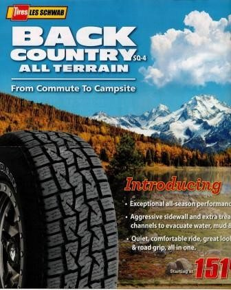 Tagline for new tire introduction