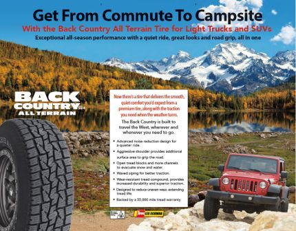 Copywriting and web content for Dean Tires brochure - Moore Creative