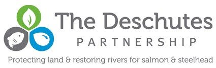 The Deschutes Partnership logo and tagline