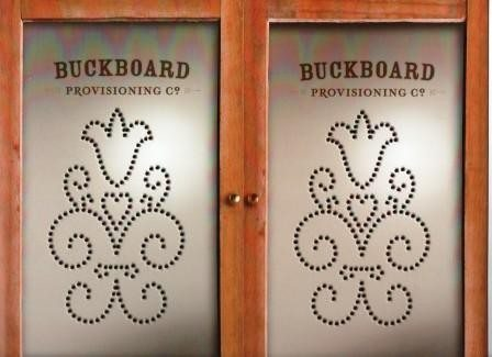 Buckboard presentation folder award-winning design