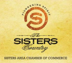 Sisters Area Chamber of Commerce logo for two PR campaigns