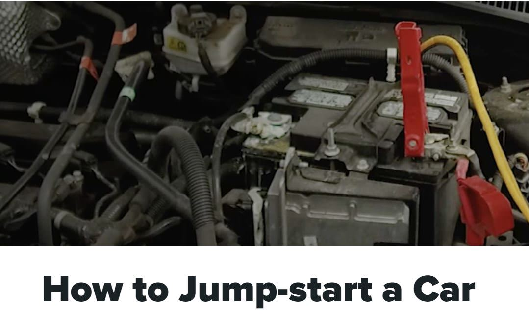 How to jump-start a car video