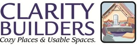 Clarity Builders logo & tagline