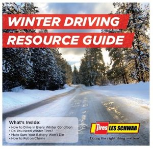 Cover - Les Schwab Winter Driving Resource Guide