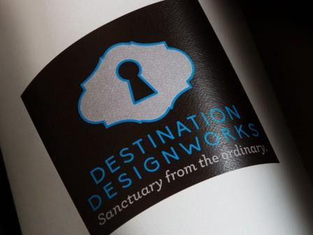 Destination Designworks logo and tagline