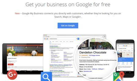 Google My Business screenshot