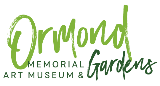Ormond Memorial Art Museum & Gardens logo - before