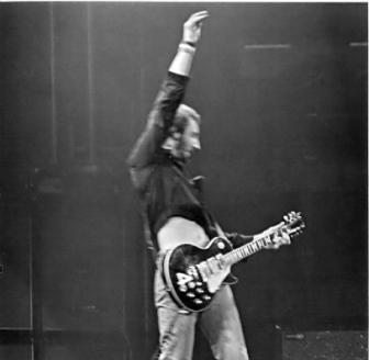 Pete Townshend with guitar