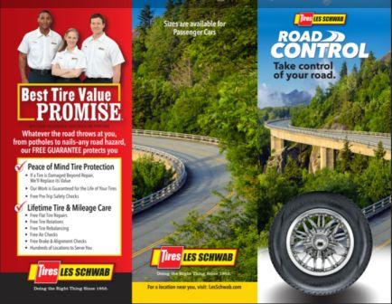 Dean Tires Road Control brochure