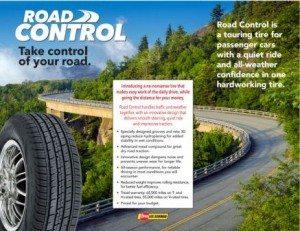 Dean Tires Road Control brochure back