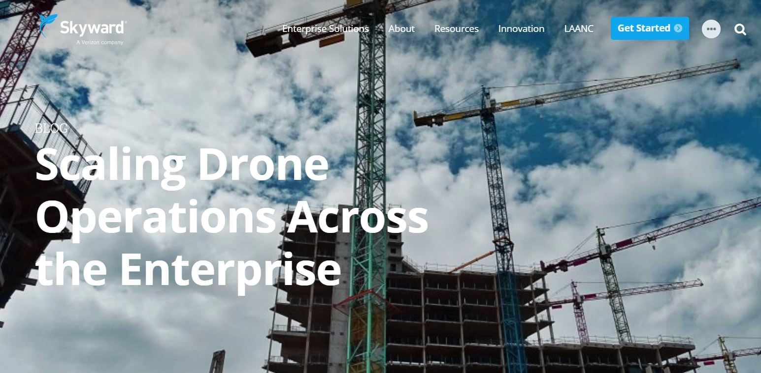 Scaling drones across the enterprise blog post