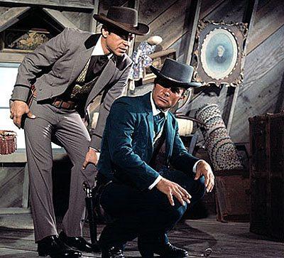 Wild, Wild West 1970s TV show scene