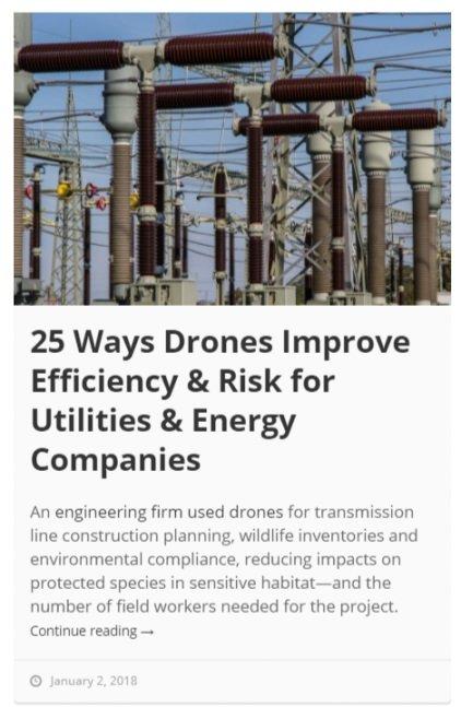 Drone Use in Utilities & Energy Companies - Skyward